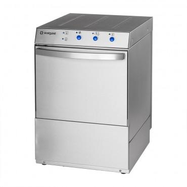 Zmywarko wyparzarka, uniwersalna, dozownik płynu myjącego, pompa zrzutowa, pompa wspomagająca płukanie, P 3.4/4.9 kW, U 230/400