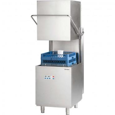 Zmywarko wyparzarka, kapturowa, dozownik płynu myjącego, pompa zrzutowa, pompa wspomagająca płukanie, P 11.1 kW, U 400 V