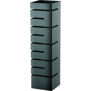 Kolumna bufetowa, prosta, czarna, H 570 mm