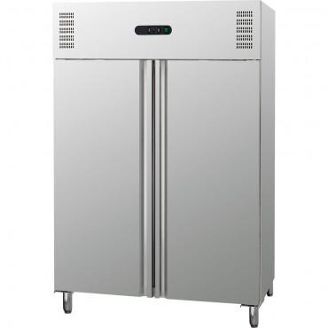Szafa chłodnicza 2 drzwiowa ze stali nierdzewnej, GN 2/1, V 1311 l