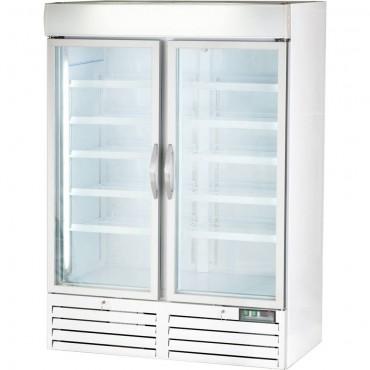 Witryna chłodnicza ekspozycyjna 2 dzwiowa, V 1079 l