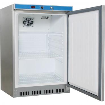 Szafa chłodnicza ze stali nierdzewnej, wnętrze z ABS, V 129 l
