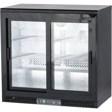 Szafa chłodniczna do butelek, drzwi przesuwane, V 202 l