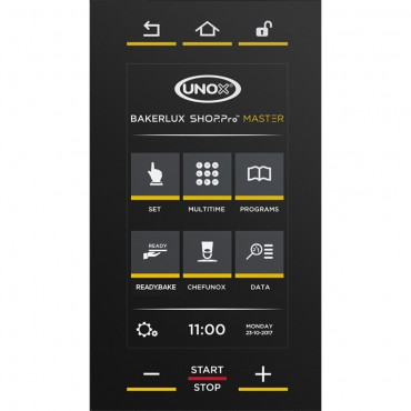 Piec konwekcyjno-parowy BAKERLUX SHOP.Pro Camilla.Matic Touch 10x(600x400) 15,5 kW