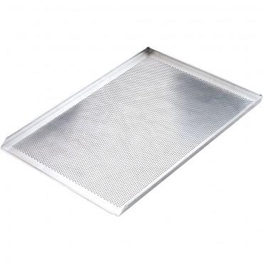 Blacha wypiekowa aluminiowa perforowana 3 ranty 1,5 mm (600x400) mm