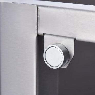 Podstawa neutralna z drzwiami, 400x620x600 mm