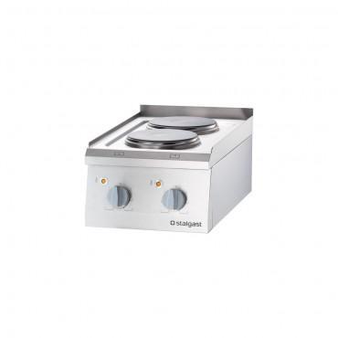 Kuchnia elektryczna, 2-polowa, nastawna, 5.2 kW