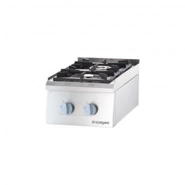 Kuchnia gazowa, 2-palnikowa, nastawna, 10.5 kW, G30