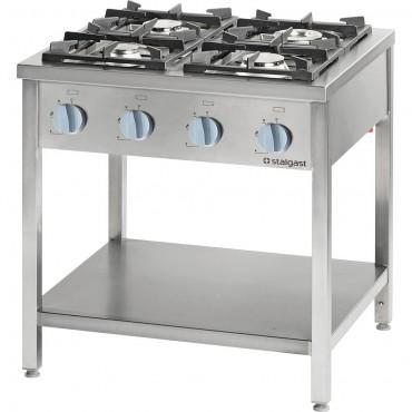 Kuchnia gazowa, 4-palnikowa, 700 mm, 22.5kW, G30