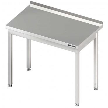 Stół przyścienny bez półki 1100x600x850 mm skręcany