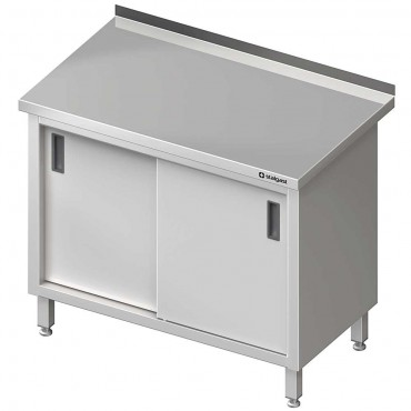 Stół przyścienny z drzwiami suwanymi 1200x700x850 mm