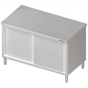 Stół centralny,przelotowy z drzwiami suwanymi 800x600x850 mm