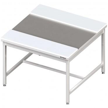 Stół centralny z płytami polietylenowymi 1500x1400x850 mm spawany