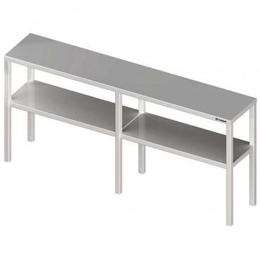 Nadstawka na stół podwójna  1600x300x700 mm