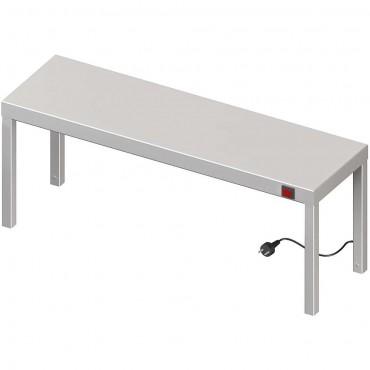 Nadstawka grzewcza na stół pojedyncza 1000x300x400 mm