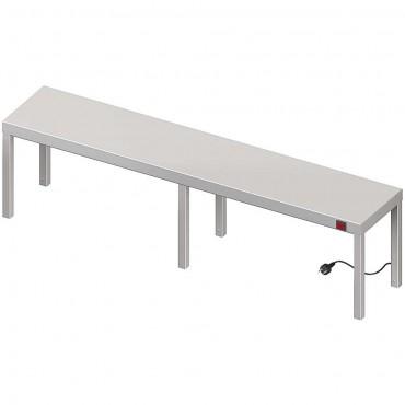 Nadstawka grzewcza na stół pojedyncza 1500x400x400 mm