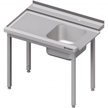 Stół załadowczy(L) 1-kom. bez półki do zmywarki SILANOS 900x760x900 mm spawany