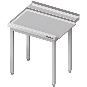 Stół wyładowczy(L), bez półki do zmywarki SILANOS 1000x760x900 mm spawany
