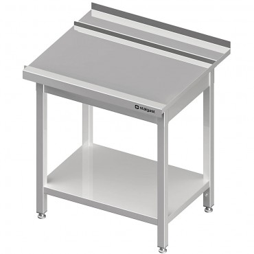 Stół wyładowczy(P), z półką do zmywarki SILANOS 800x760x900 mm skręcany