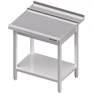 Stół wyładowczy(P), z półką do zmywarki SILANOS 1000x760x900 mm skręcany