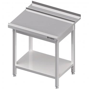 Stół wyładowczy(P), z półką do zmywarki SILANOS 1000x760x900 mm spawany