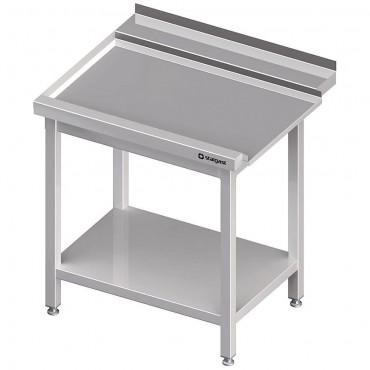Stół wyładowczy(L), z półką do zmywarki SILANOS 1000x760x900 mm spawany