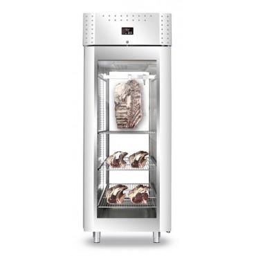 Szafa do sezonowania mięsa 1-drzwiowa przeszklona 700l VIP PANORAMA NEW2020