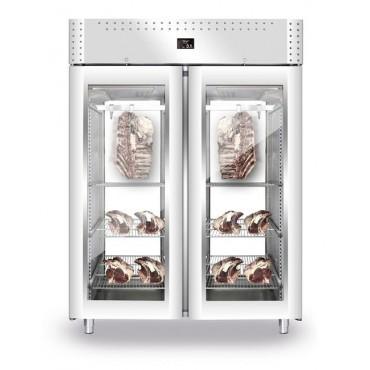 Szafa do sezonowania mięsa 2-drzwiowa przeszklona 1500l VIP PANORAMA NEW2020