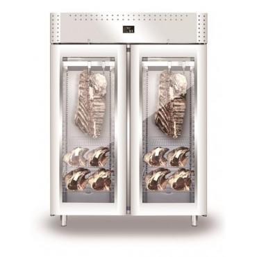 Szafa do sezonowania mięsa 2-drzwiowa przeszklona 1500l VIP NEW2020