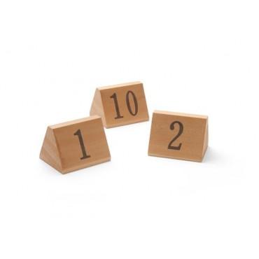 Tabliczka informacyjna z numerem, zestaw (od 1 do 10)
