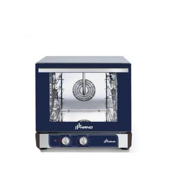 Piec konwekcyjny z nawilżaniem Hendi Nano 4x 450x340 mm - elektryczny, sterowanie manualne
