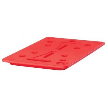 Element grzewczy Cambro CAM GOBOX Camwarmer, czerwony GN 1/1 - 530x325x(H)30 mm