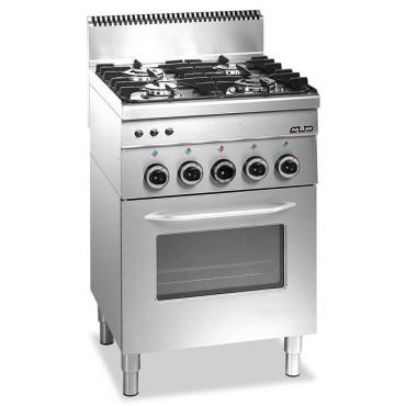 Kuchnia gazowa z piekarnikiem gazowym MBM600 4-palnikowa
