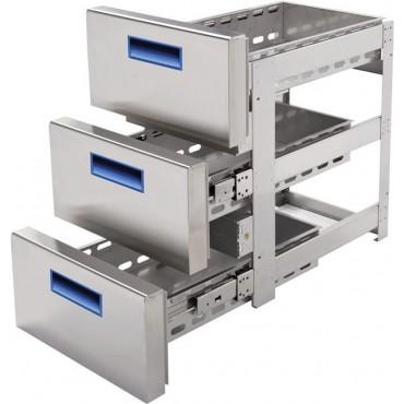 Blok szuflad 3x 1/3  do stółów chłodniczych