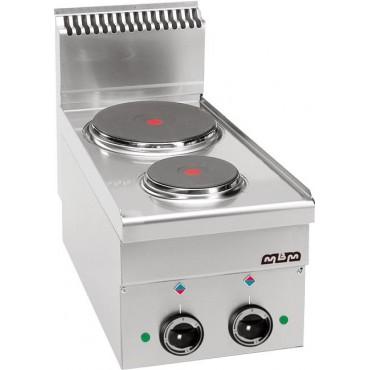 Kuchnia elektryczna stołowa MBM 600 2-płytowa