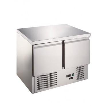 Stół chłodniczy sałatkowy 2-drzwiowy z blatem roboczym