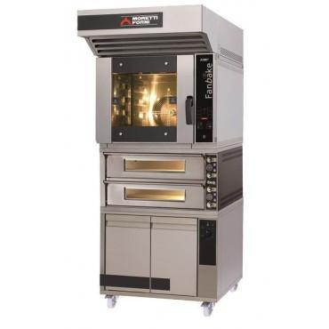 Zestaw piekarniczo - pizzeryjny iBake z piecem dwukomorowym MFIBAKE25