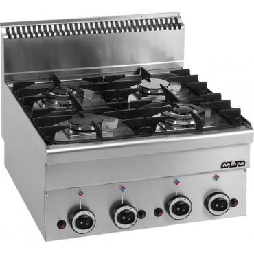 Kuchnia gazowa stołowa MBM600 4-palnikowa