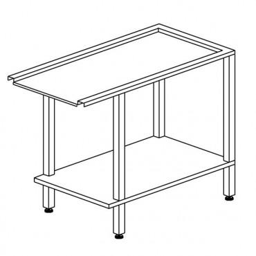 Stół wyładowczy, prosty