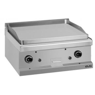 Płyta grillowa stołowa - gazowa, gładka linia 700