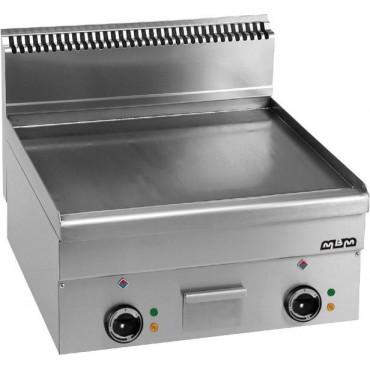 Płyta grillowa stołowa,gładka chromowana - elektryczna MBM600