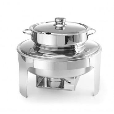 Podgrzewacz na pastę do zupy wysokopolerowany