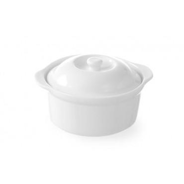 Naczynie z pokrywką - okrągłe