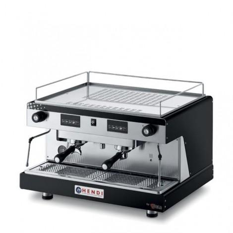 Ekspres do kawy Hendi Top Line by Wega, 2 grupowy elektroniczny Czarny kolor