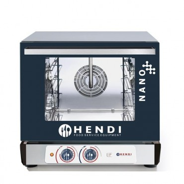 Piec konwekcyjny z nawilżaniem Hendi Nano – 4x 450x340 MM