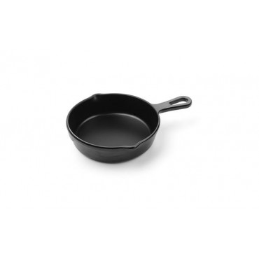 Rondelek czarny Little Chef mini - okrągły